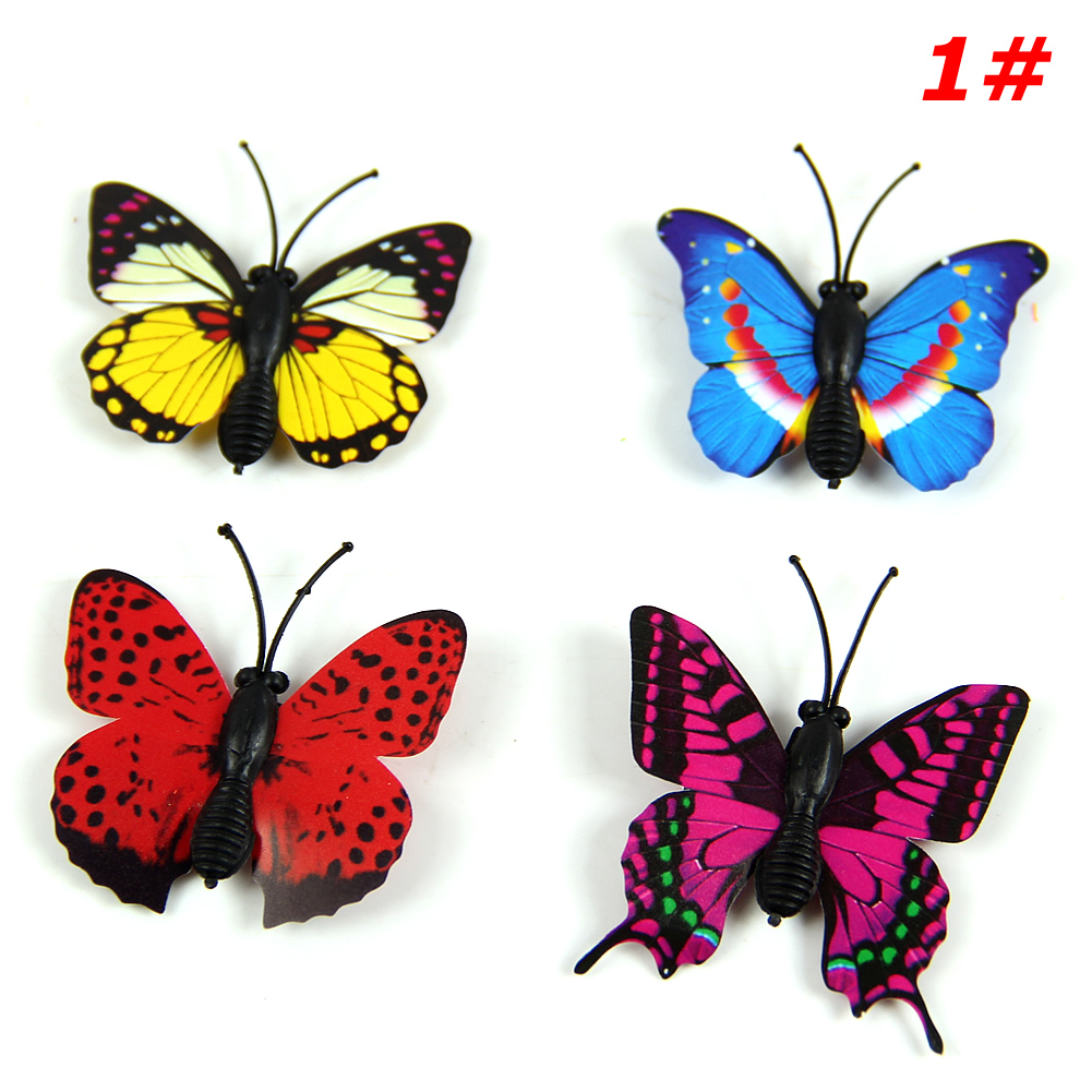 Best 1Pcs 3D Wall Stickers Magnet Butterflies Diy Home Decor This Month