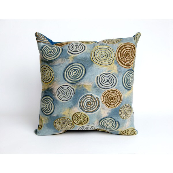 Best Shop Spiral 20 Inch Throw Pillow Free Shipping On Orders This Month
