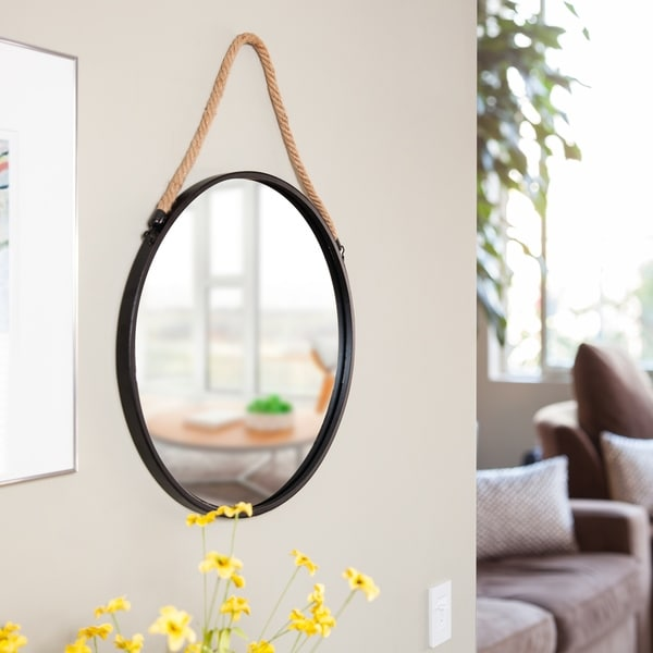 Best Shop Danya B Framed 20 Decorative Round Black Metal This Month