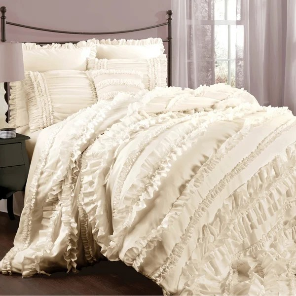 Best Lush Decor Belle 4 Piece Comforter Set Free Shipping This Month