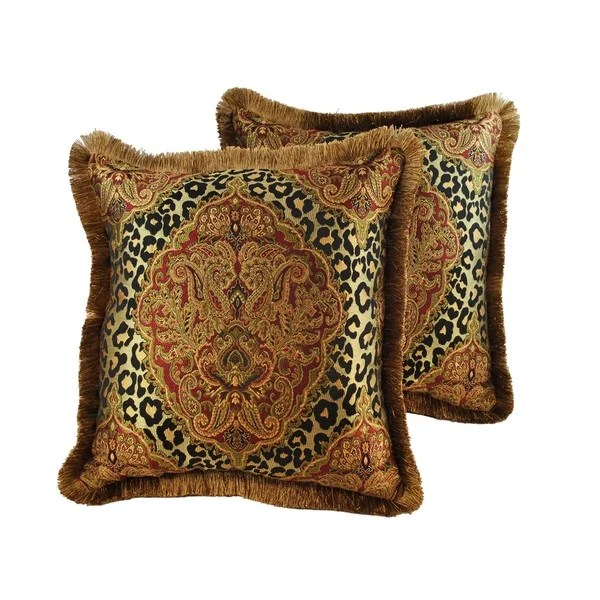 Best Shop Sherry Kline Tangiers 20 Inch Throw Pillows Set Of 2 This Month