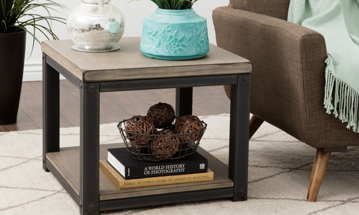 Best How To Decorate With A Large End Table Overstock Com This Month
