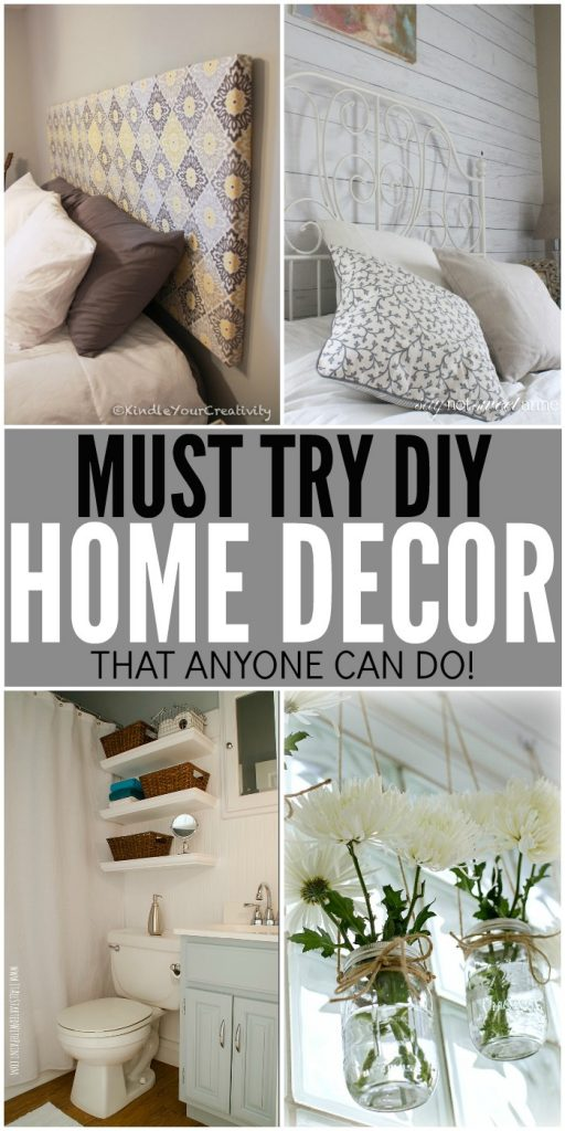 Best Diy Home Decor Ideas That Anyone Can Do This Month