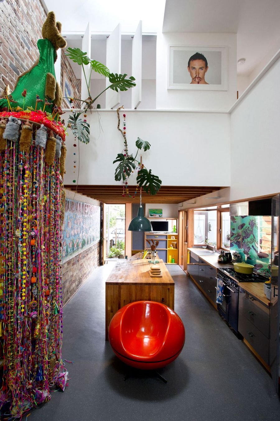 Best Eclectic Sydney House Presents Colorful And Quirky Interiors This Month