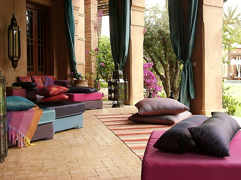 Best Moroccan Patios Courtyards Ideas Photos Decor And This Month