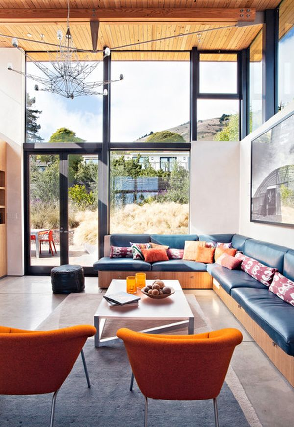 Best How To Decorate A Living Room With Large Windows This Month