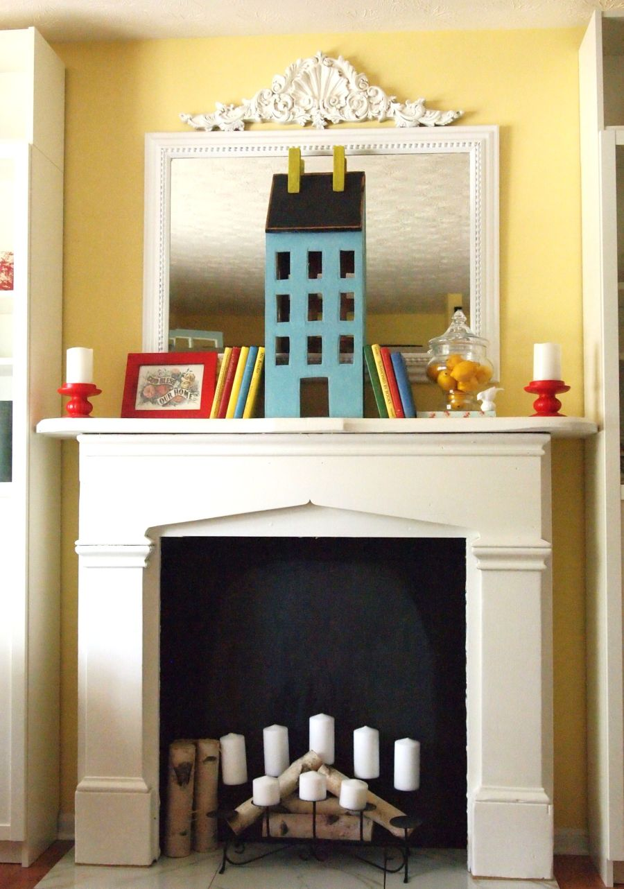 Best Beautiful Ways To Style Decorate A Faux Fireplace This Month