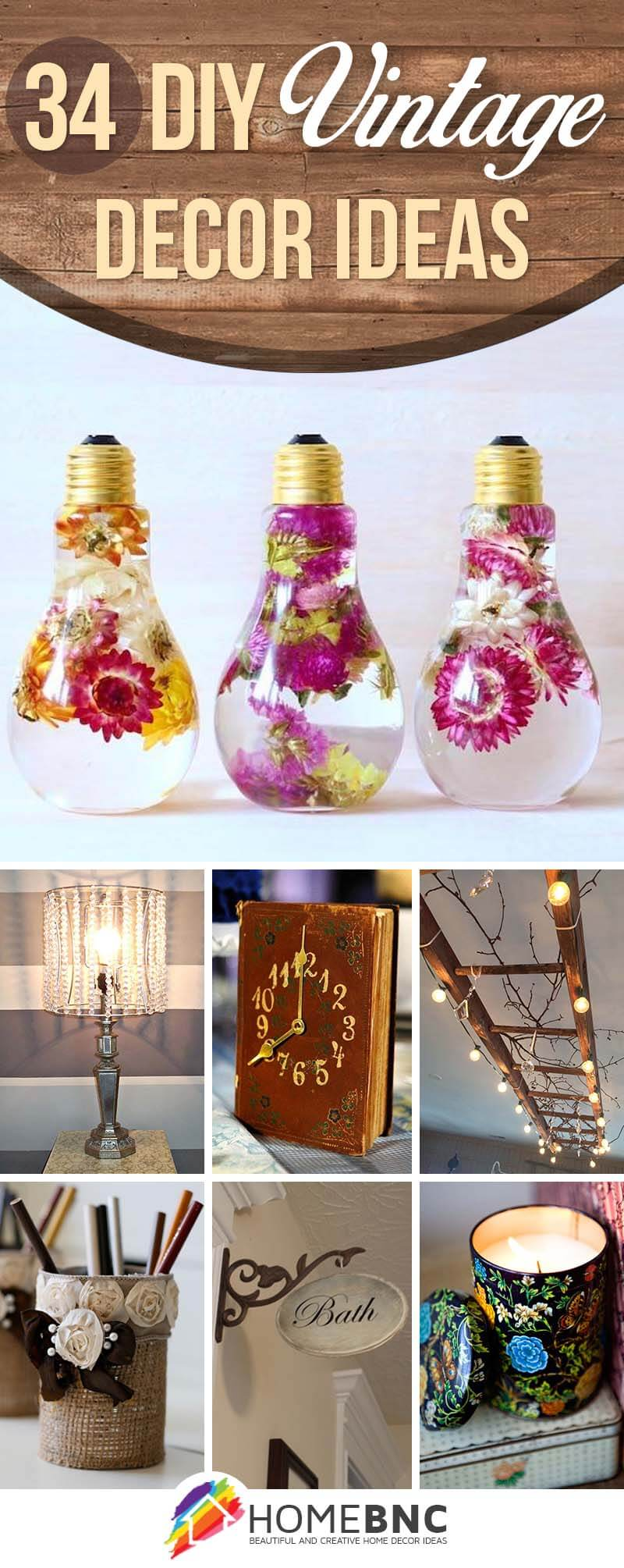 Best 34 Best Diy Vintage Decor Ideas And Projects For 2017 This Month