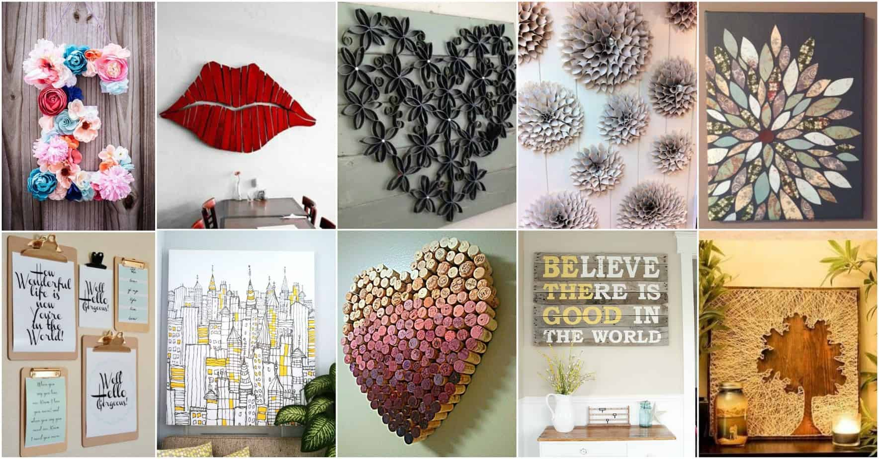 Best More Amazing Diy Wall Art Ideas This Month