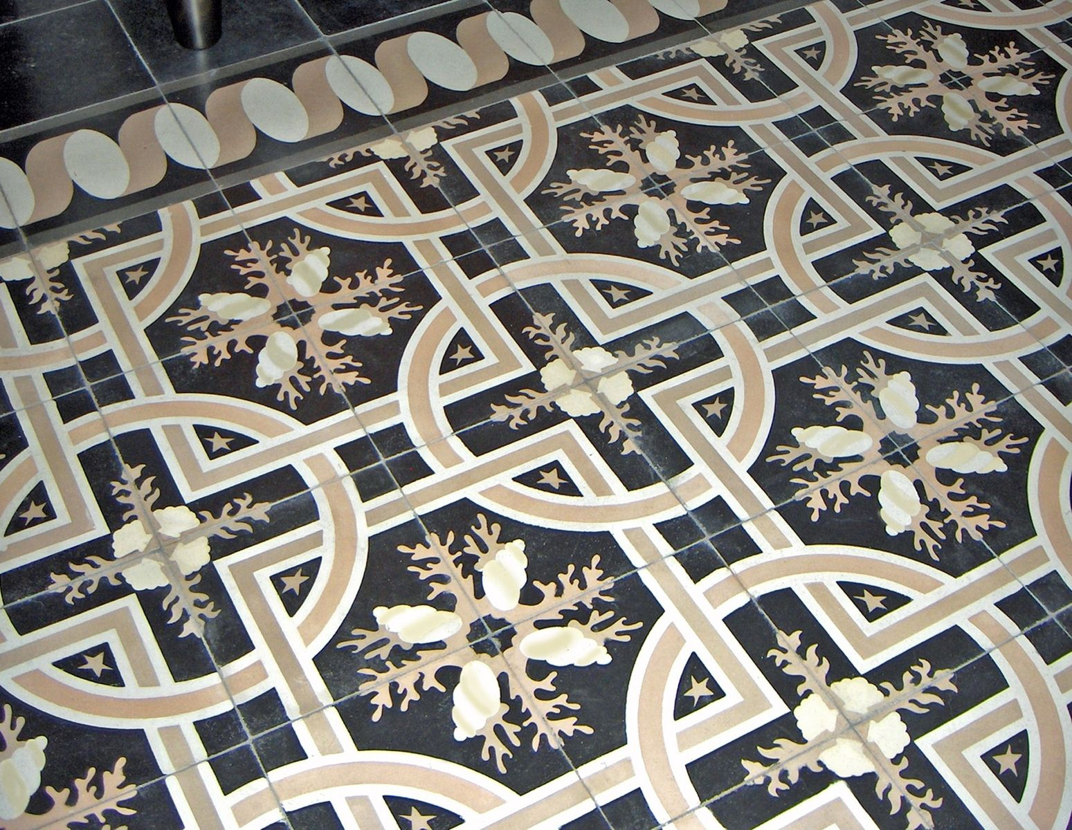 Best Hand Made Trapani Midnight Decorative Cement Tile By This Month