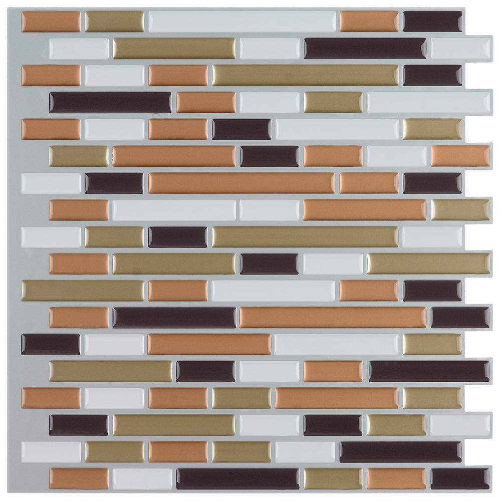 Best Instant Mosaic 12 In X 12 In Peel And Stick Mosaic This Month