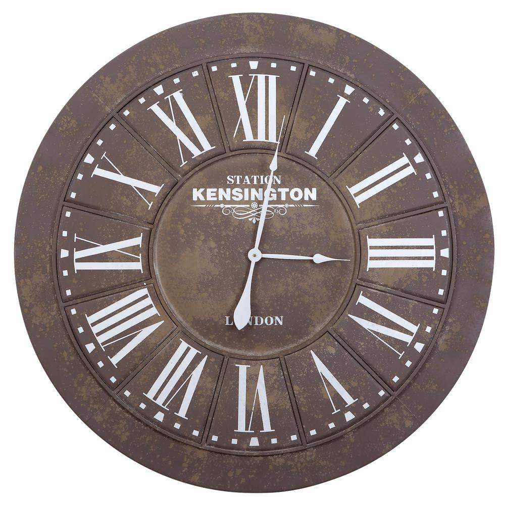 Best Yosemite Home Decor 39 5 In X 39 5 In Circular Iron Wall This Month