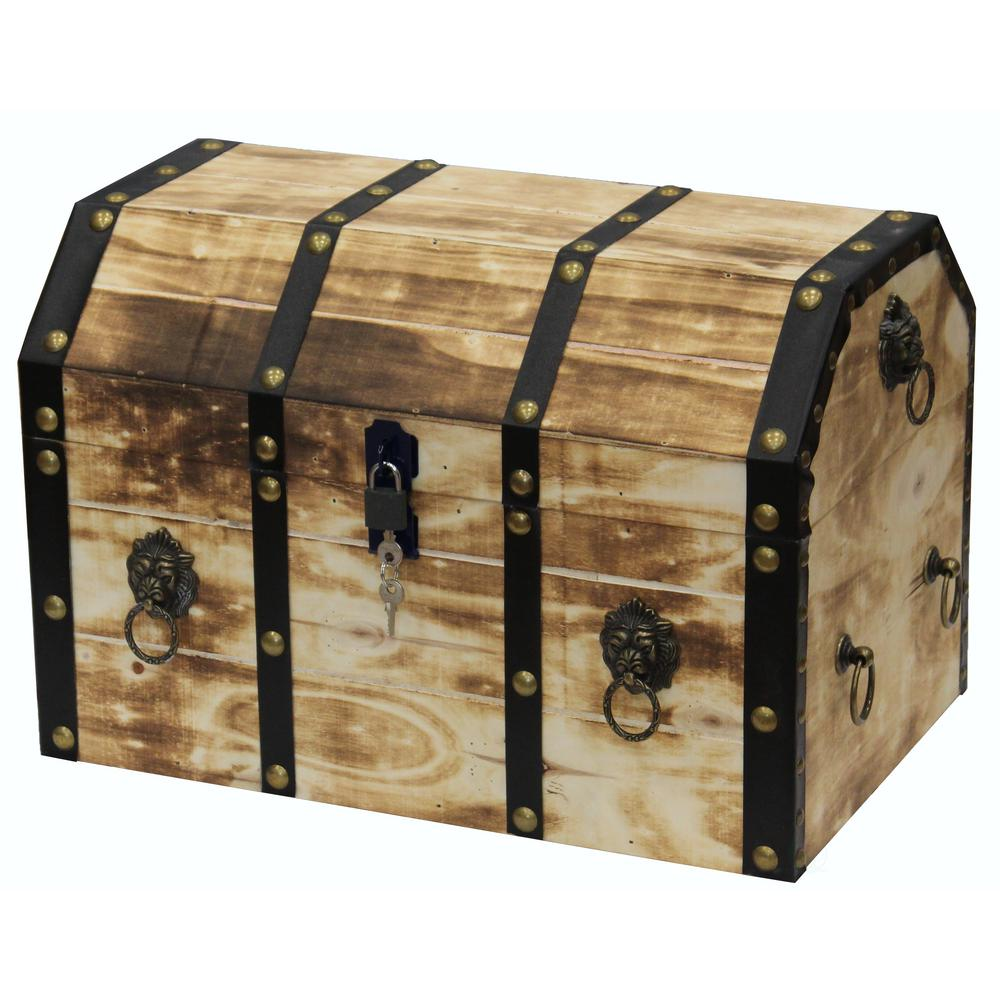 Best Vintiquewise Large Wooden Decorative Lion Rings Pirate This Month