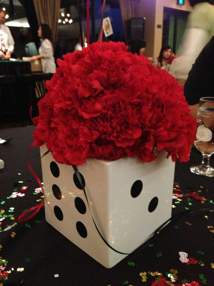 Best 11 Best Casino Centerpieces Images On Pinterest Theme This Month