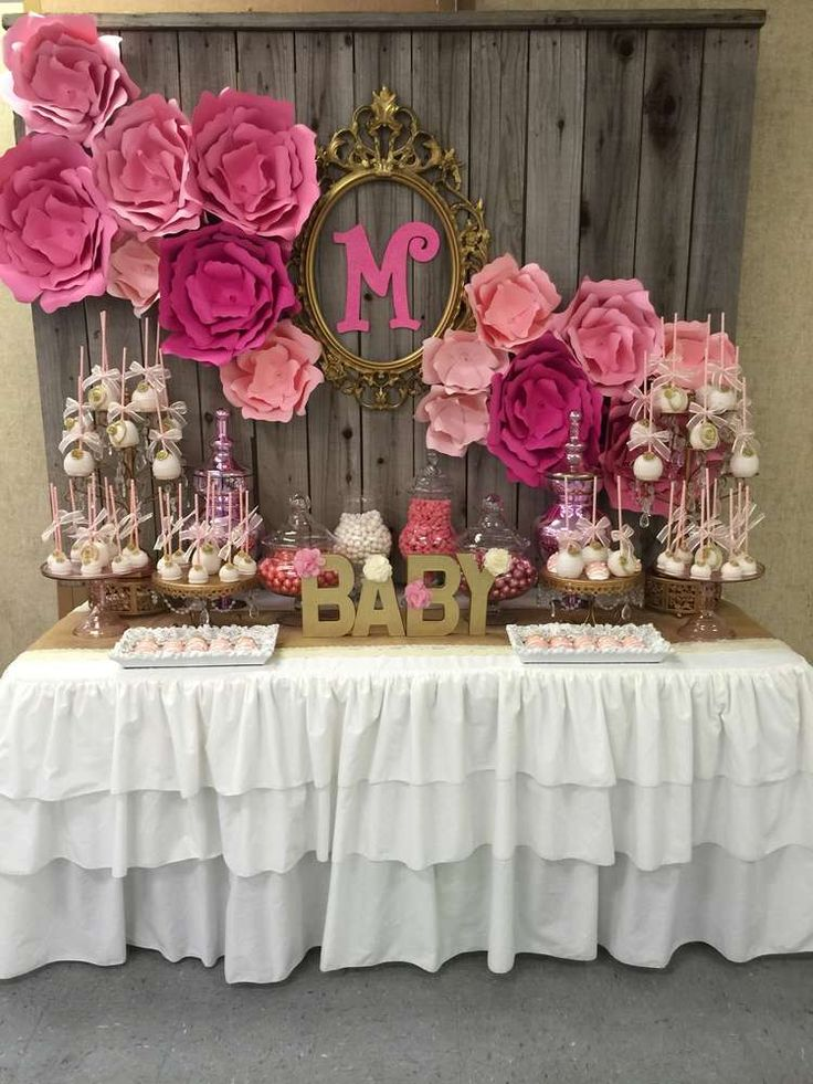 Best Gorgeous Pink And Gold Baby Shower Party See More Party This Month