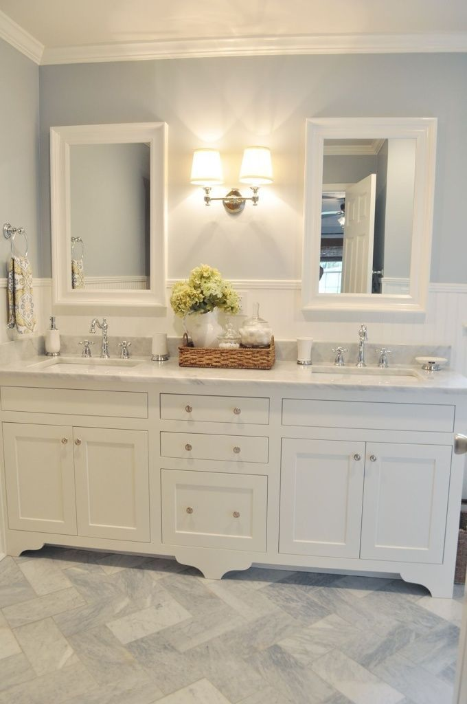 Best 25 Double Sink Vanity Ideas On Pinterest Double This Month