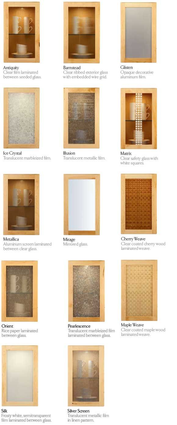 Best Decorative Glass Panels For Cabinets Kraftmaid Glass This Month