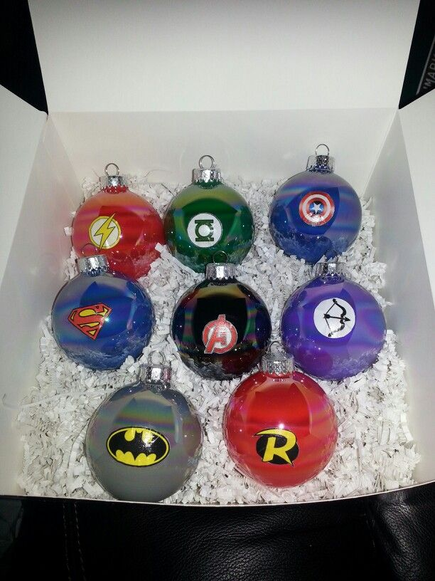 Best My Diy Superhero Ornaments Flash Green Lantern Captain This Month