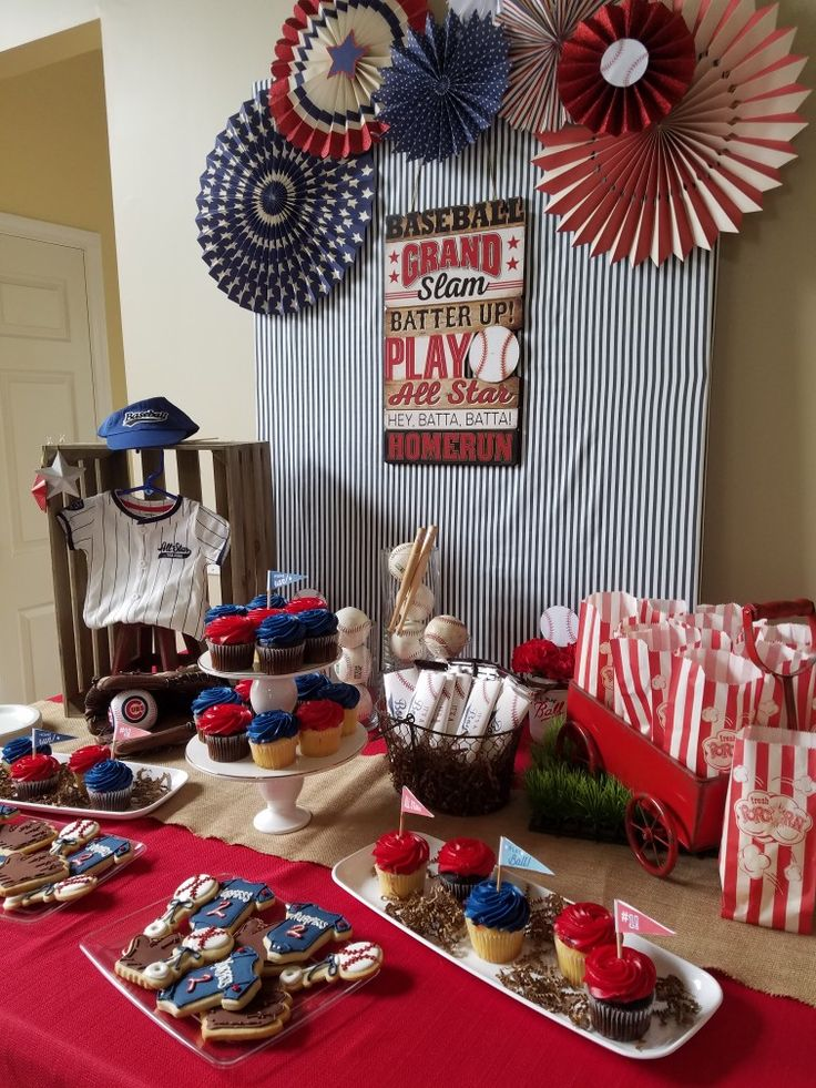 Best Top 25 Best Baseball Themed Parties Ideas On Pinterest This Month