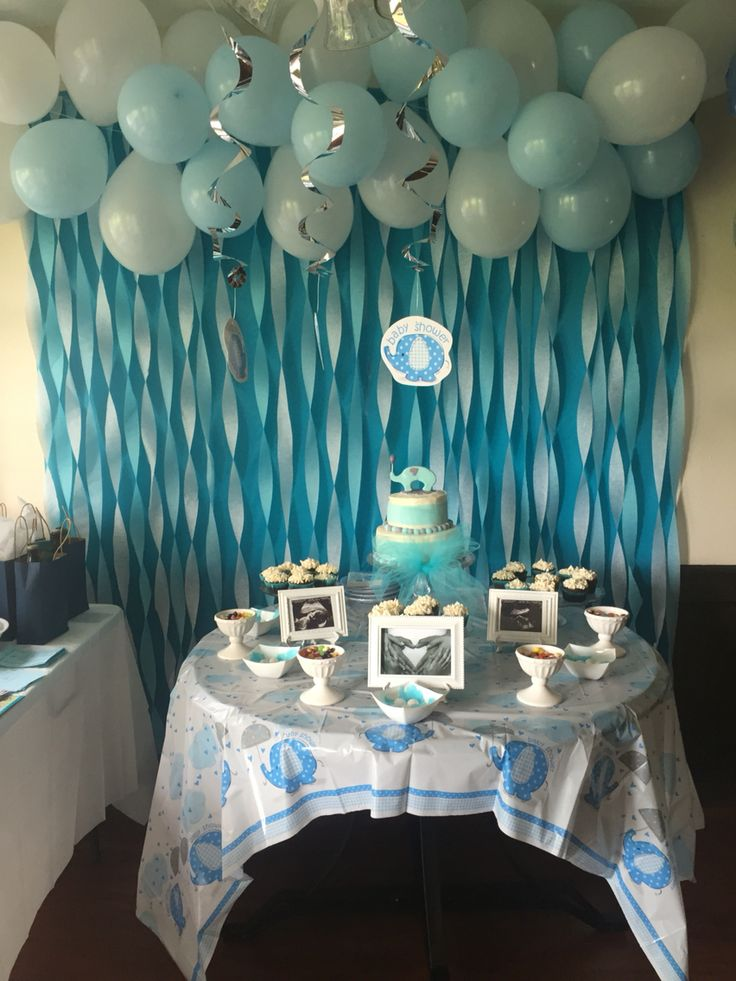 Best Baby Boy Elephant Baby Shower Baby Shower Ideas In 2019 This Month