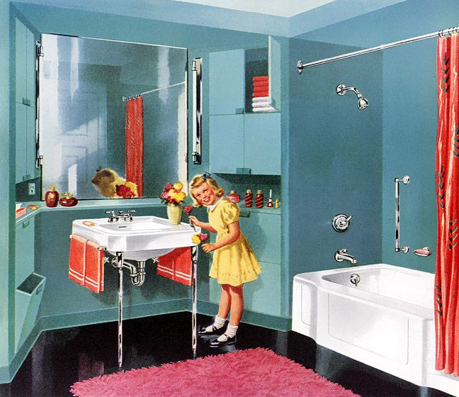 Best 25 1950S Bathroom Ideas On Pinterest 1950S Home This Month