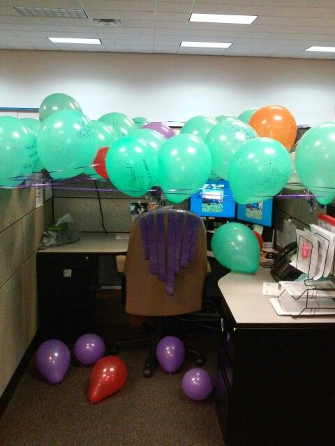 Best 25 Unique Cubicle Birthday Decorations Ideas On Pinterest This Month