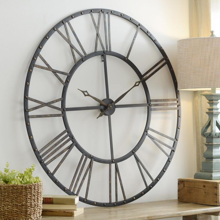 Best Product Details Addison Open Face Clock Living Room This Month
