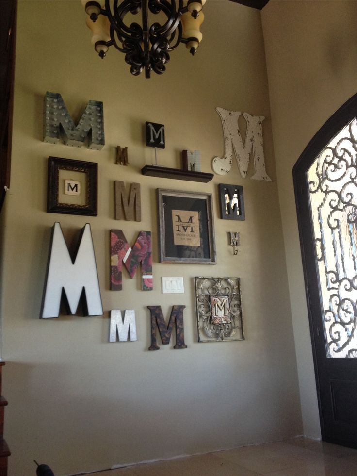Best 25 Monogram Wall Letters Ideas On Pinterest Wall This Month