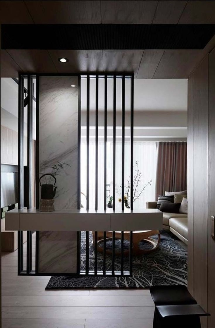 Best 42 Stunning Modern Partition Design Ideas For Living Room This Month
