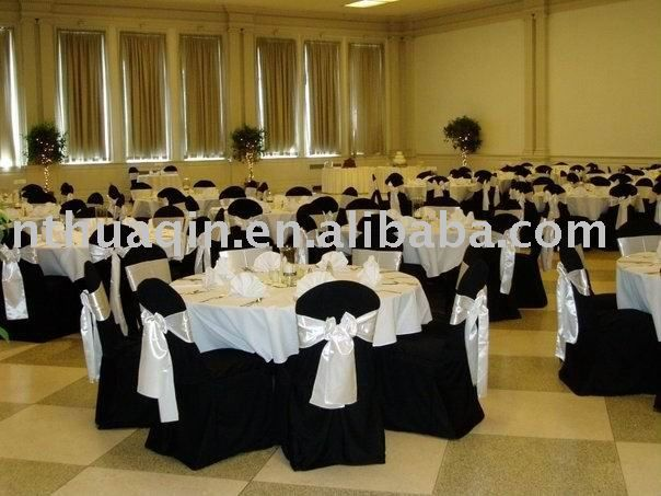 Best Black Wedding Table Cloth And Chair Covers Black Banquet This Month