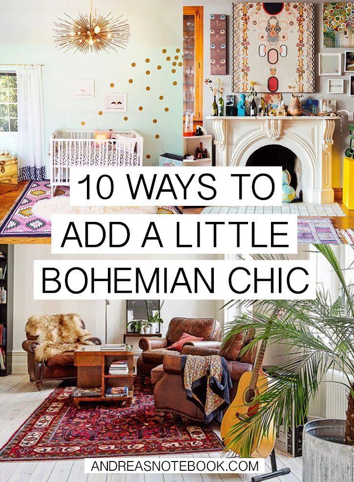 Best 10 Ways To Add Bohemian Chic To Your Home This Month