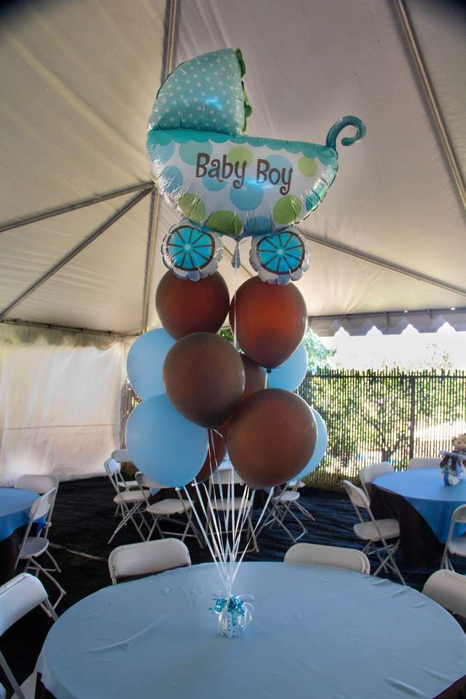 Best Light Blue Brown Monkey Baby Shower Party Ideas Monkey This Month