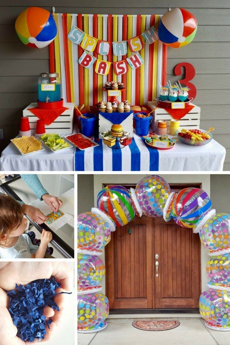 Best How To Throw A Beach Ball Party Kids Party Ideas Beach This Month