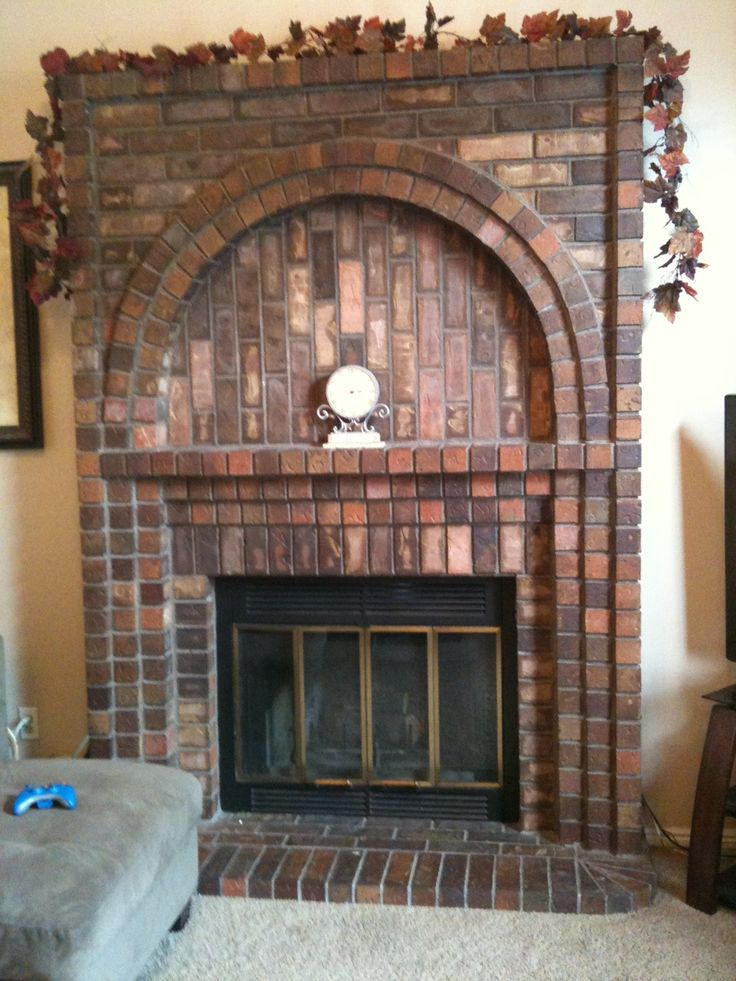Best 70 Best Brick Fireplaces Chimneys Images On Pinterest This Month