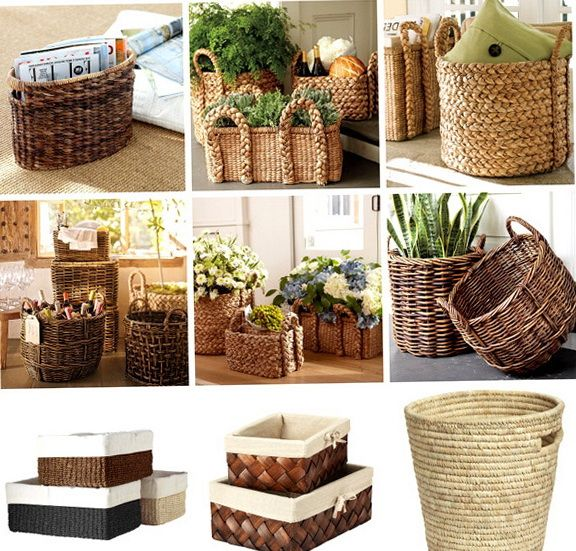 Best A Beautiful Picture Of Wicker Baskets For The Family This Month