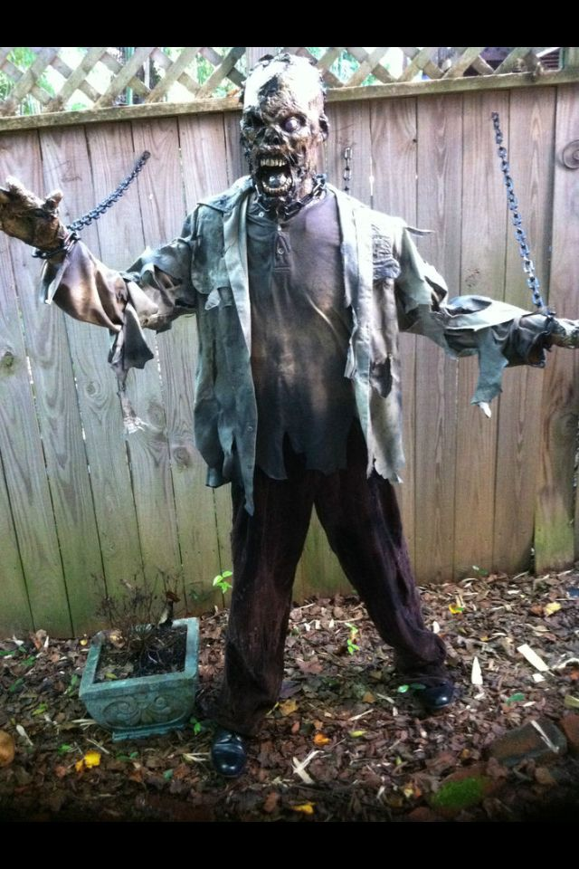 Best 25 Zombie Halloween Decorations Ideas On Pinterest This Month