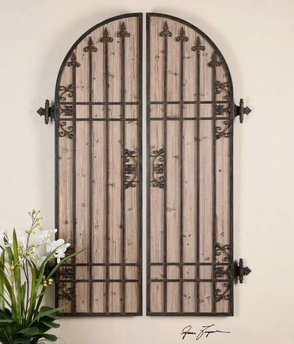 Best Lombardi Arch Panels Wall Decor Arch Shaped As A Pair Of This Month