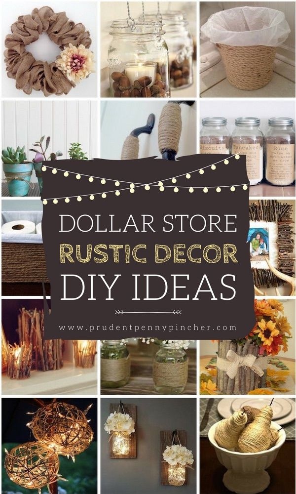 Best 50 Dollar Store Rustic Home Decor Ideas Cheap Diy Home This Month