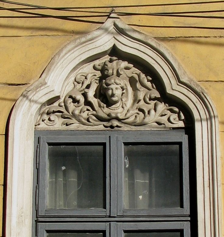 Best Stucco Moulding Female Head Accolade Shaped Window Arch This Month