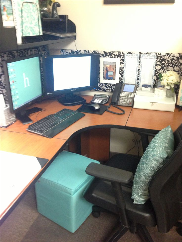 Best 25 Cubicle Makeover Ideas On Pinterest Work Office This Month