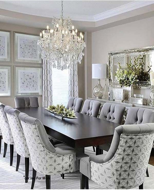 Best Fantastic Dining Room Decoration Ideas For 2019 Home This Month