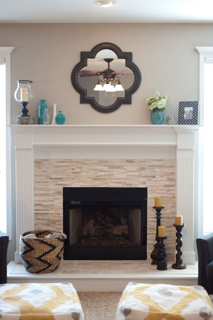 Best 25 Mirror Above Fireplace Ideas On Pinterest This Month