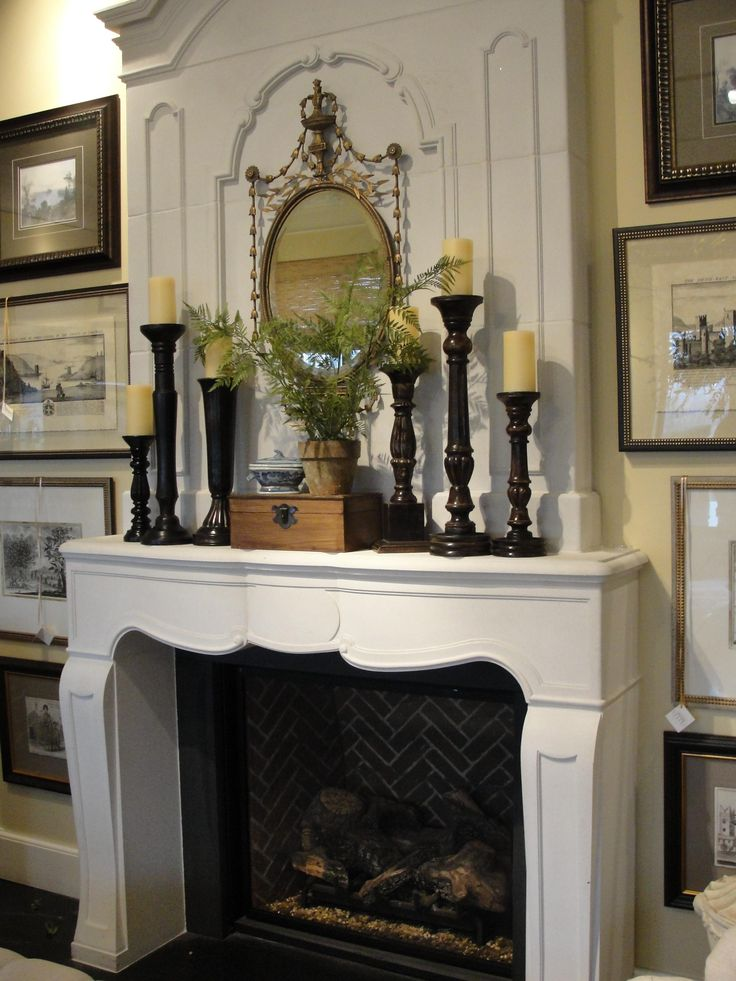 Best 25 Fireplace Mantel Decorations Ideas On Pinterest This Month