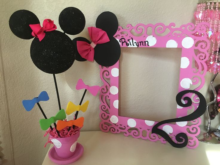 Best Two Year Old Minnie Mouse Theme Party Decorations Rilynn This Month