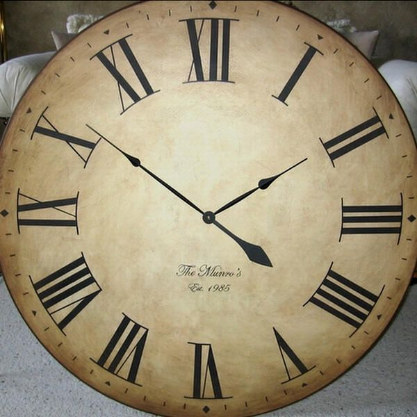 Best 25 Extra Large Wall Clock Ideas On Pinterest Large This Month