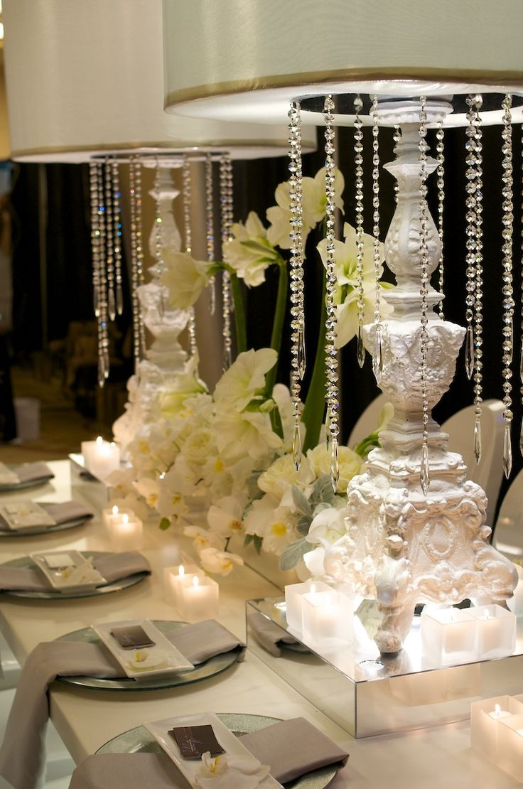 Best 1000 Best Centerpieces Bring On The Bling Crystals This Month