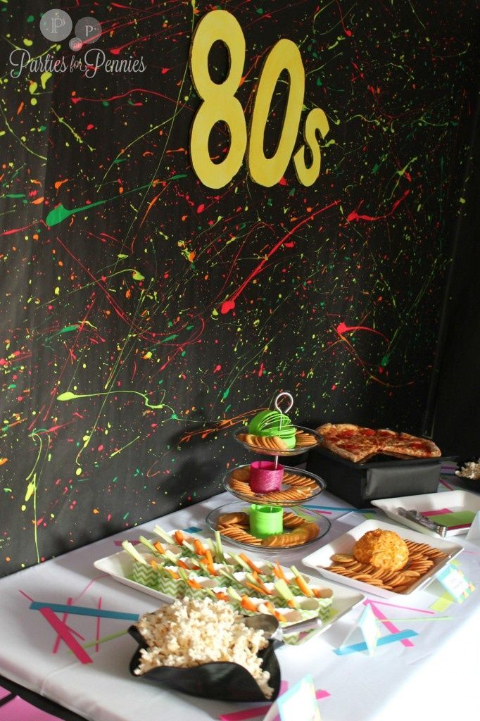 Best 80S Party Food For 80S Party 80S Party Decorations This Month