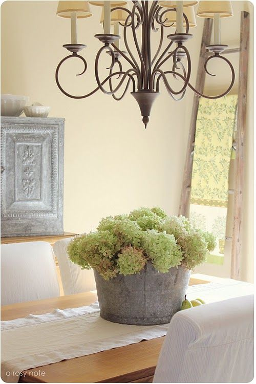 Best Galvanized Bucket With Hydrangeas Wreaths Hurricanes This Month