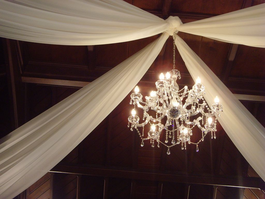 Best Decorating The Ceiling With Fabric Wedding Decorator This Month