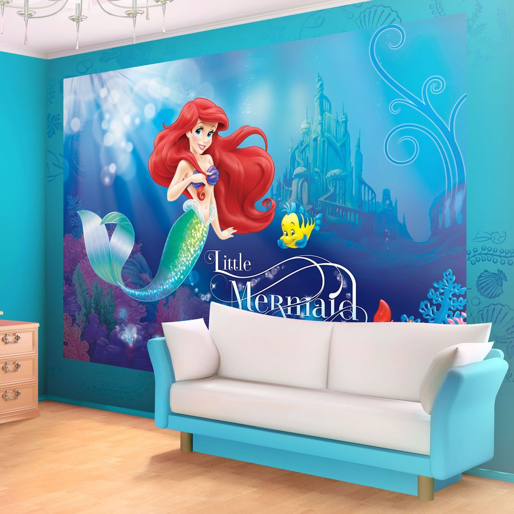 Best Disney Ariel The Little Mermaid Photo Wallpaper Wall Mural This Month